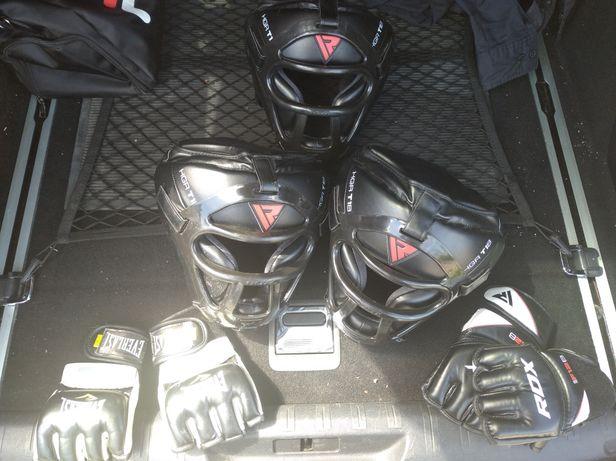 RDX рукавиці та шлем