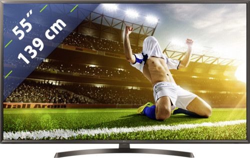 Продам телевізор Smart TV LG 55 дюймов 4K