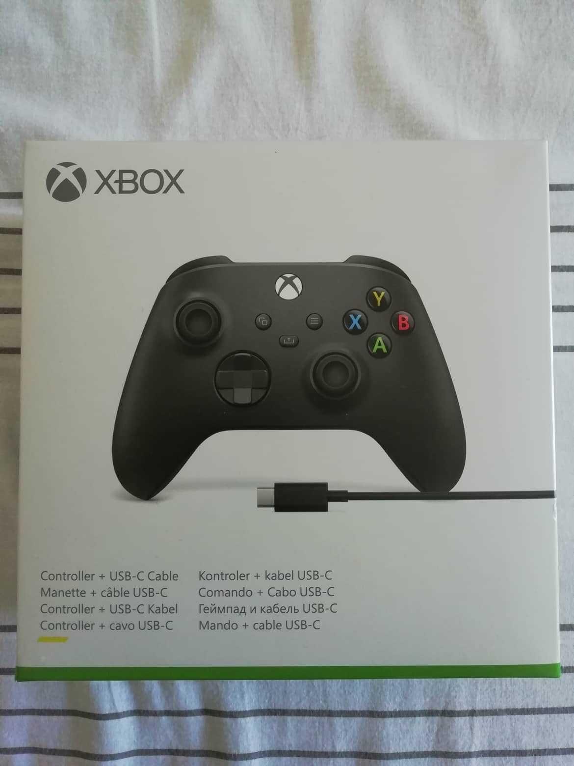 Comando Xbox Serie X [Wireless] [Cabo USB-C]