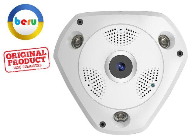 """""""ТРЕУГОЛКА"""" VR 360° IP WiFi Видео Камера Наблюдения Видеонаблюдени"""