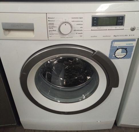 Entrega garantia máquina de roupa Siemens 8kg