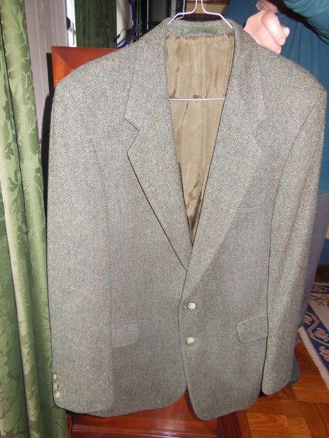 Casaco de homem Tweed, como novo, L
