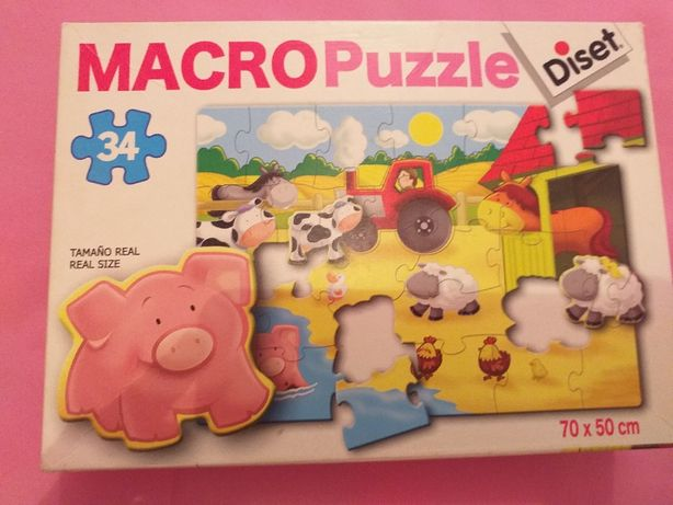 3 maxi puzzles Diset, Majora, Educa (+3A)