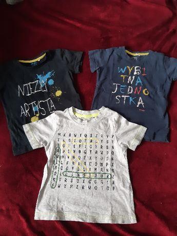 komplet ubranka dla chłopca na 2 latka zestaw