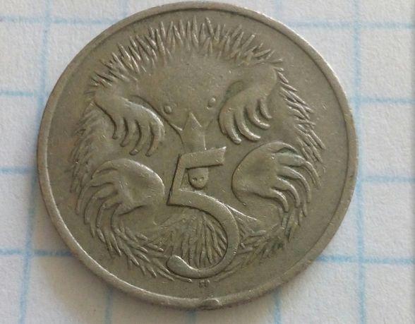 5 центов, Австралия, 1976