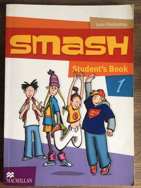 SMASH Student's Book 1 Macmillan jak nowa