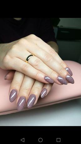 Manicure pedicure hybrydowy klasyczny żelowy paznokcie hybryda dojazd