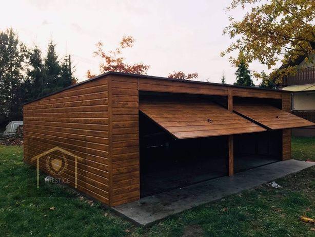 Garaze drewnopodobne kazdy wymiar i kolor 7x6 6x6