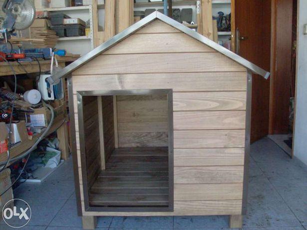 Casota em madeira para cães de tamanho labrador,pastor alemão