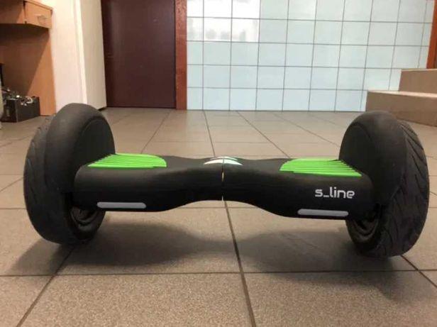 Hoverboard S-LINE SB205G 10 Czarno-zielony
