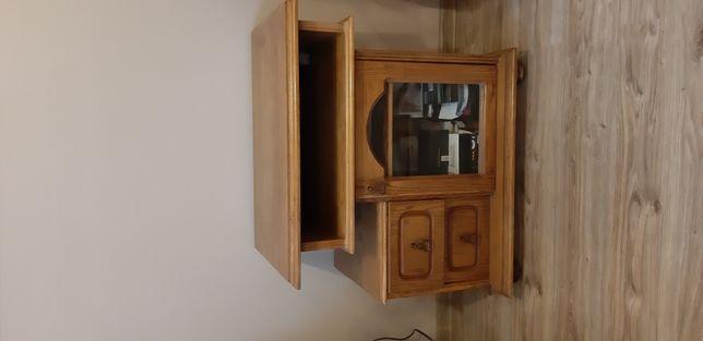 Szafka RTV pod telewizor dąb