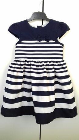 Śliczna sukienka r. 98