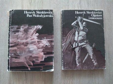 Pan Wołodyjowski i Ogniem i mieczem.