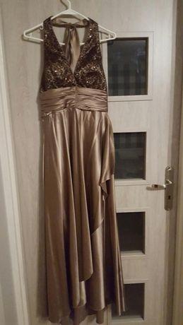 Studniówka wesele suknia sukienka długa maxi wieczorowa roz 38