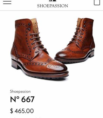Люкс! кожаные ботинки, туфли, черевики от shoepassion, ecco