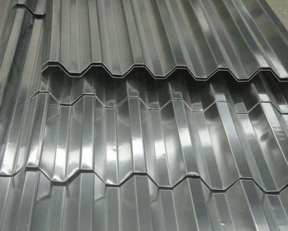 Цинковий металопрофіль та лист оцинкований від 0,30 до 0,90мм