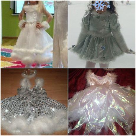 карнавальный костюм карнавальное платье снежинки