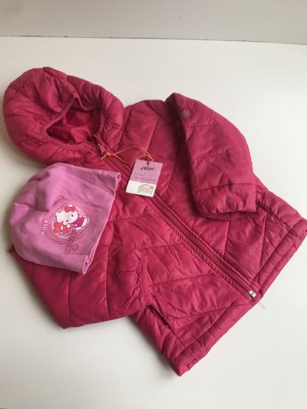 Куртка и шапка весна/осень для девочки 2-4 года