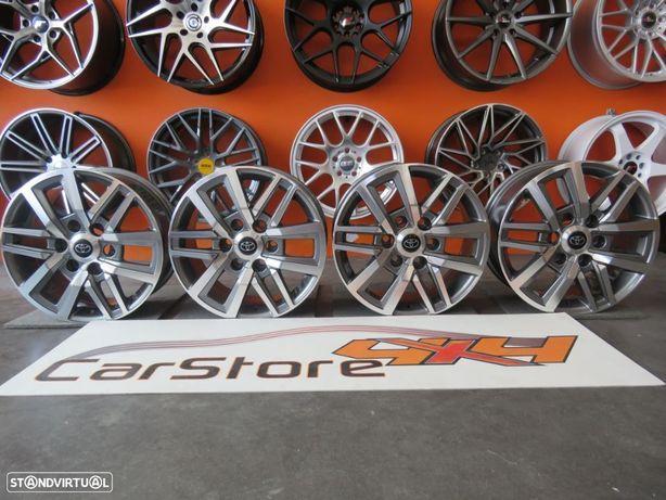 Jantes Look Toyota Hilux 17 x 7.5 et 30 6x139.7 CB106.1 Antracite+ Polidas