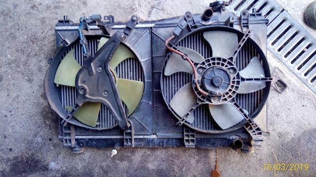 Radiador ventilador Civic 2001 a 2005