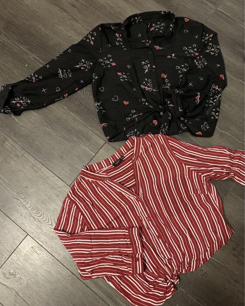 Продам стильные блузки для женщины девушки подойдут на размер xs,s,m