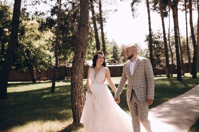 Свадебное дизайнерское платье Papilio