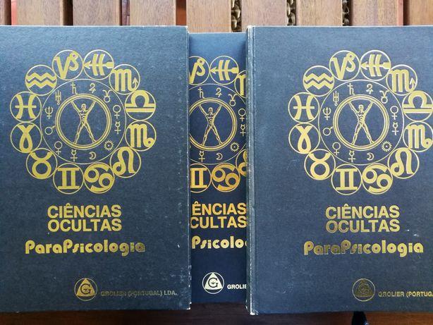 Enciclopédia Ciências Ocultas e Parapsicologia (8 volumes)