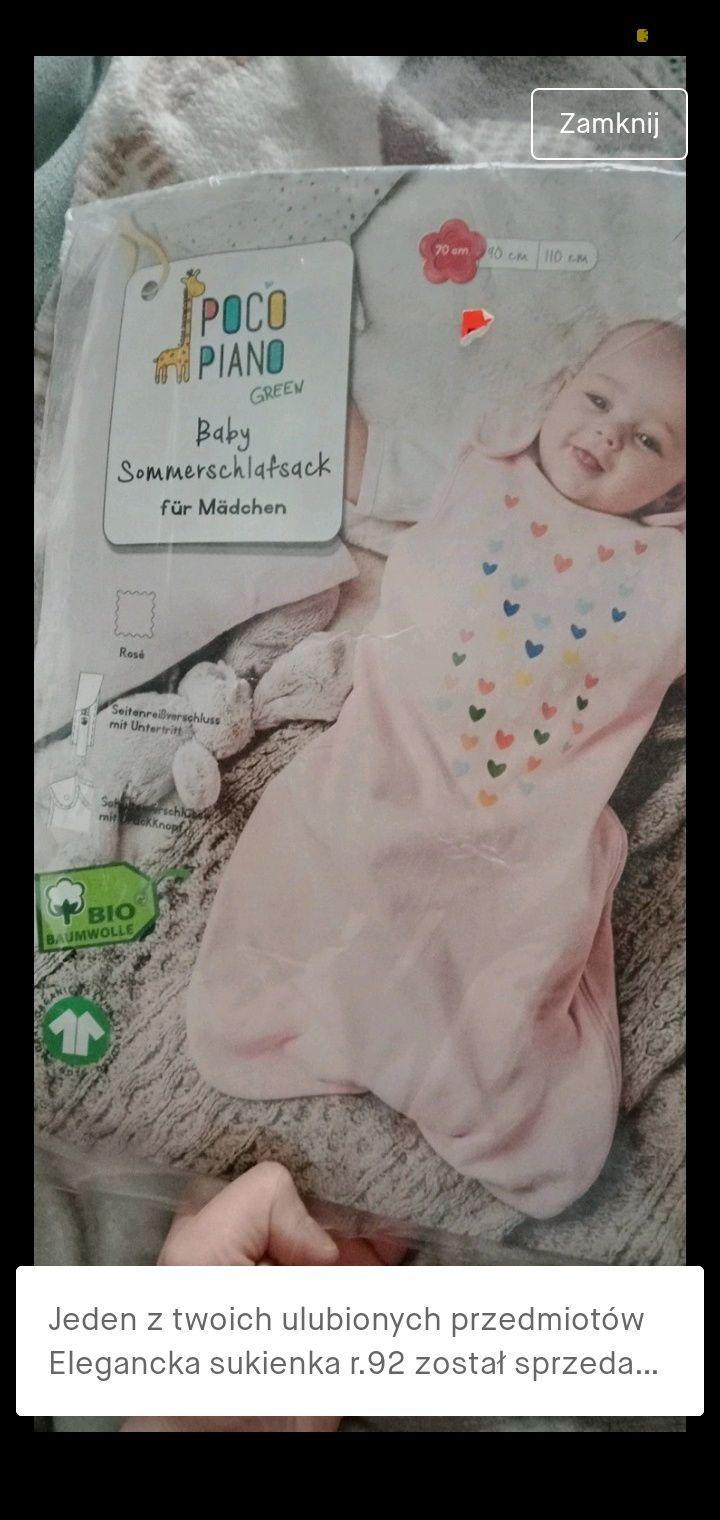 Śpiworek niemowlęcy