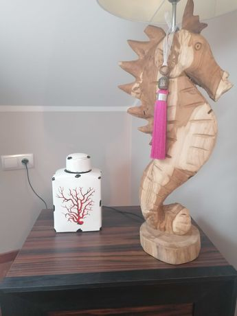 waza stara amfora porcelana wazon ceramiczny koralowiec Hamptons