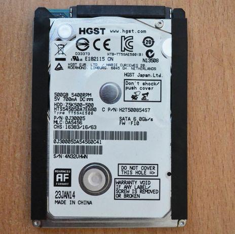 Жесткий диск HDD 500 GB 2.5 для ноутбука и подарок HDD 160 GB 2.5 торг
