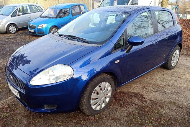Fiat Grande Punto 2008 rok 65kM 1,25 Benzyna ZAREJESTROWANY 5 drzwi