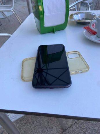 iphone 11 black como novo