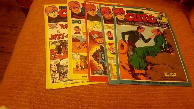Lote 5 revistas do cuto