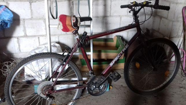 Rower z przerzutkami