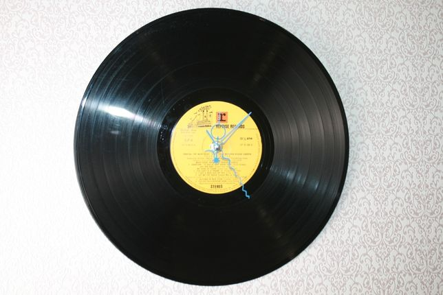 Relógio de Parede em Vinil de Franck Sinatra