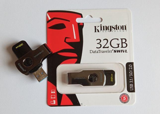 Флешка USB 3.0 Kingston DataTraveler Swivl 32GB