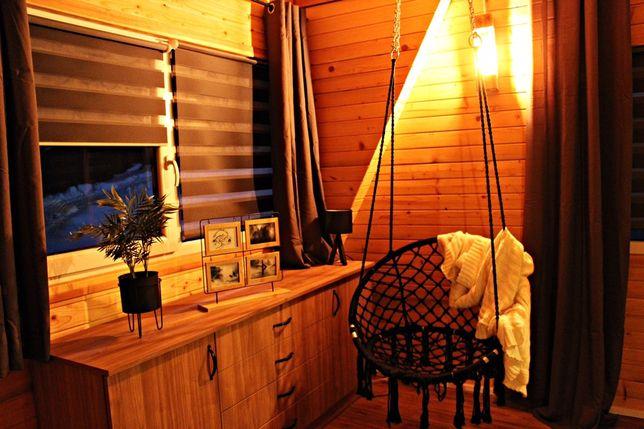 Domek letniskowy / całoroczny SPA jacuzzi sauna wypoczynek noclegi bon