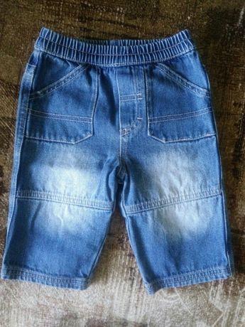 Детские джинсовые шорты (бриджи) на мальчика