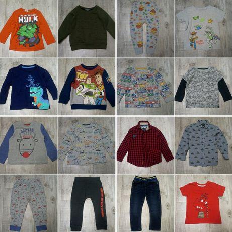 Markowe ubranka r. 92 chłopiec 18-24 mies spodnie koszule bluzki inne