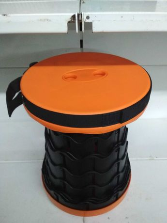 Складной стул, раскладной компактный табурет Retractable Stool