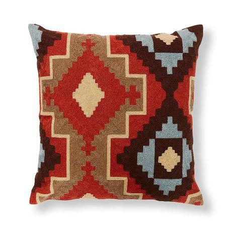 Almofadas Decorativas Desenho Kilim Morango Pillow- by OVO Home Design