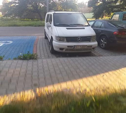Mercedes Vito - sprzedaż auta na części