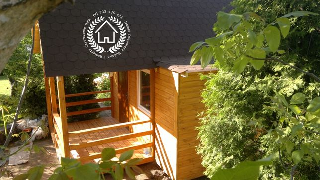Remonty i budowa domków drewnianych letniskowych