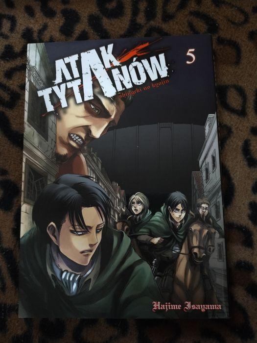 Manga Atak Tytanów Tom 5 Sokółka - image 1