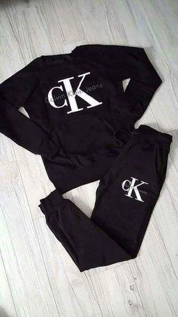 Dres zestaw damski ck calvin klein spodnie bluza s m l xl xxl