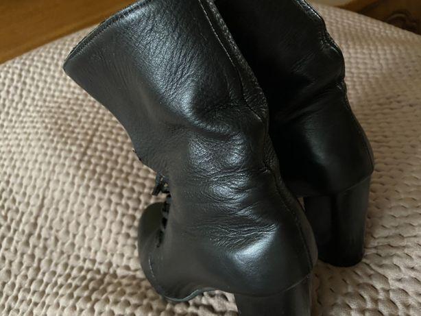 Ботинки, сапоги, кожанные полусапожки, демисезонные 36 размер