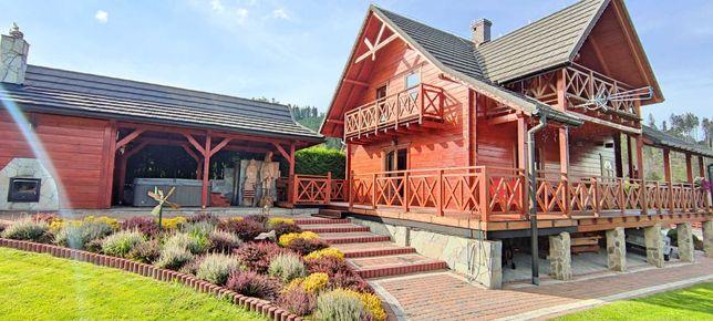 Komfortowy dom w GÓRACH do wynajęcia z prywatnym Jacuzzi i Sauną