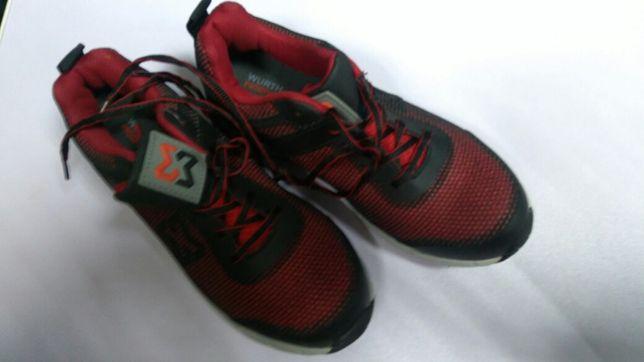 Buty obuwie robocze ochronne WURTH modyf półbuty do prac w ogrodzie 39