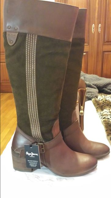 Botas Pepe Jeans   novas   em pele