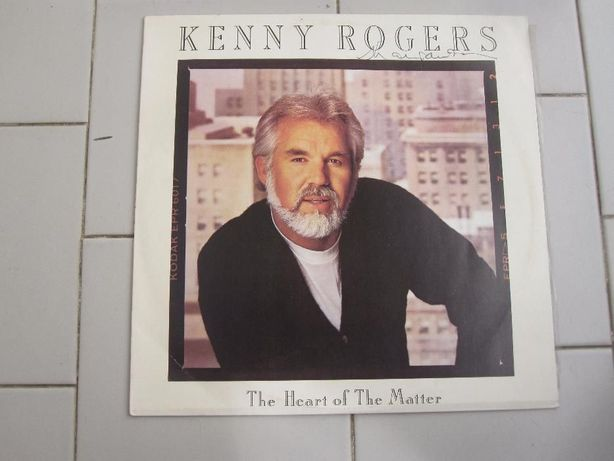 Vinil Kenny Rogers The Heart of The Matter